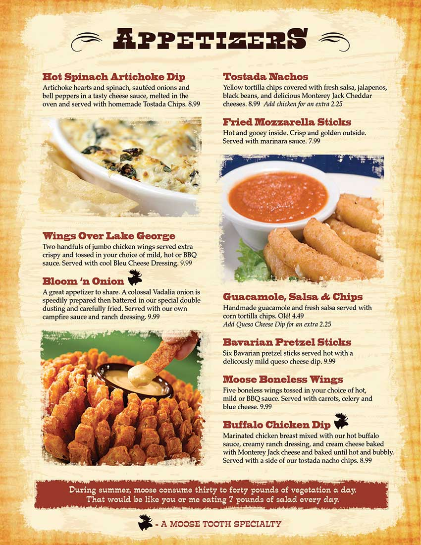 Ginger Cafe And Grill Menu